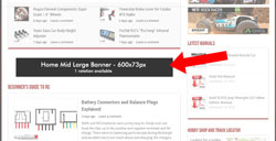 How to Place Homepage-only Banner ads on WordPress site