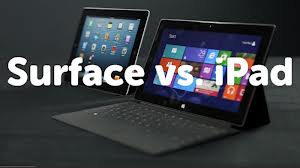 Microsoft Surface Vs The New iPad